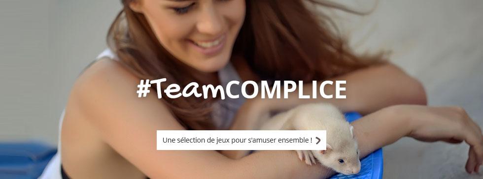 #TeamCOMPLICE : une sélection de jouets pour vous amuser avec votre animal