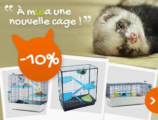 Découvrez notre offre de cage jusqu'à -25 %
