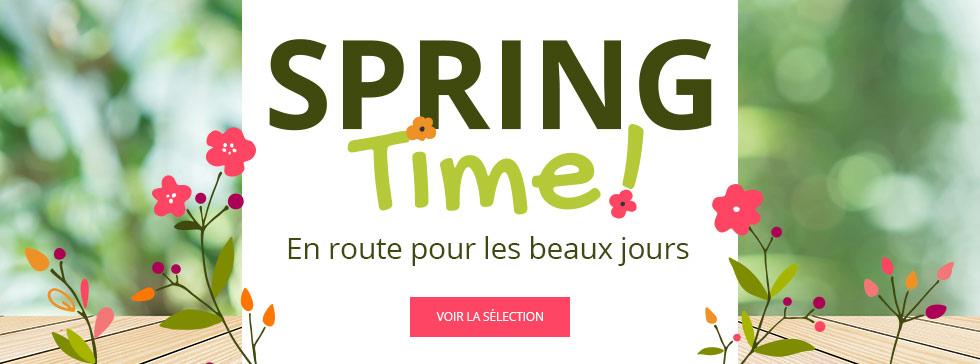Spring Time : découvrez la sélection printemps !