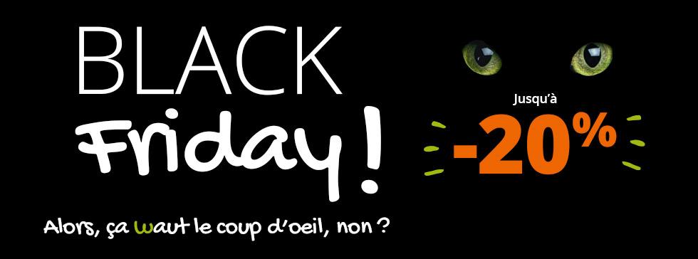 Découvrez nos promos spéciales pour le Black Friday !
