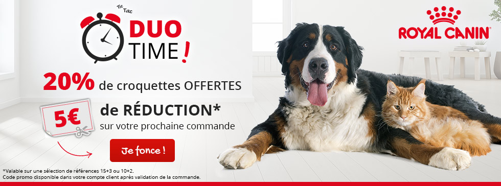 Royal Canin : promos Duo Time !