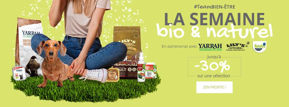 #TeamBIEN-ETRE : jusqu'à -30% sur une sélection de produits bio et naturels
