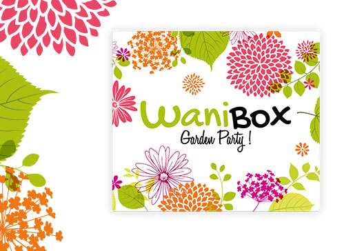 Découvrez la wanibox garden party