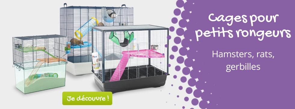 Voici notre sélection de cages pour petits rongeurs !