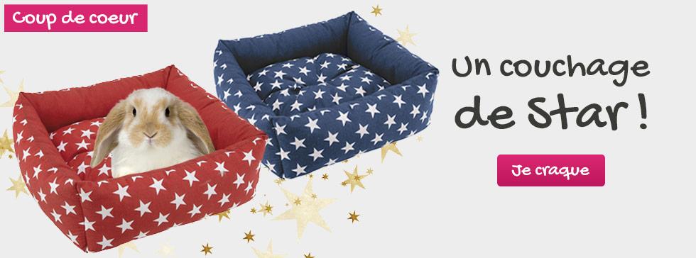 Un vrai couchage de star pour votre rongeur