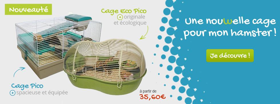 Découvrez nos nouveautés cage pour votre hamster
