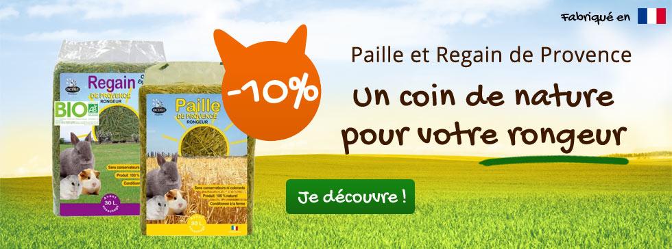 -10% sur la paille et le regain de Provence