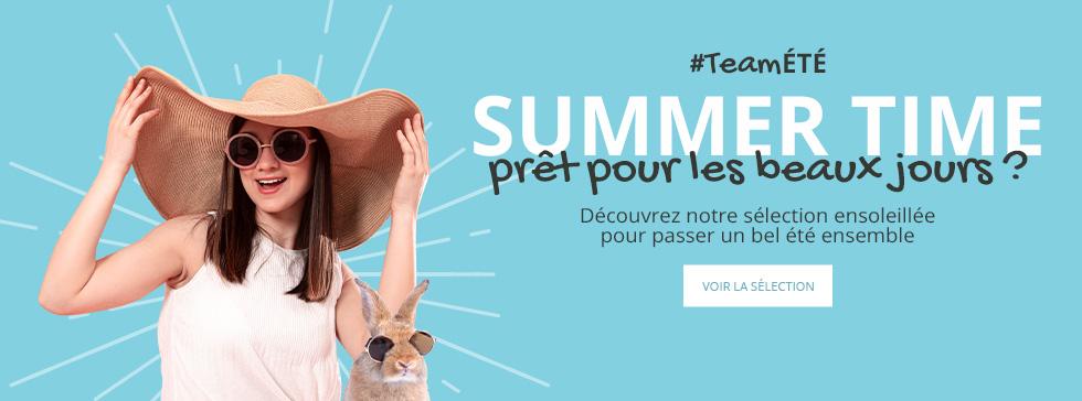 Summer Time : découvrez notre sélection été !