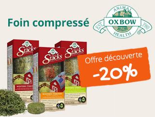 20 pourcent de reduction sur le foin oxbow harvest stacks