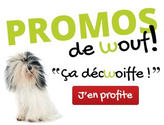 Promos de Wouf jusqu'à -50%