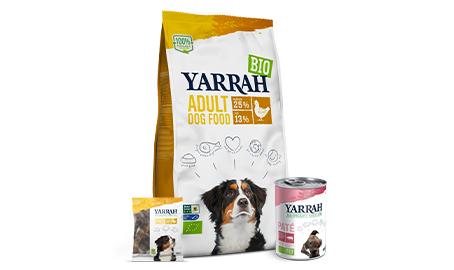 Aliments Yarrah pour chien