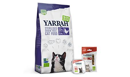 Aliments Yarrah pour chats