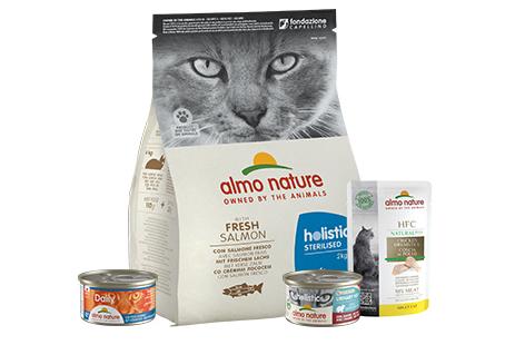 Produits Almo pour chat