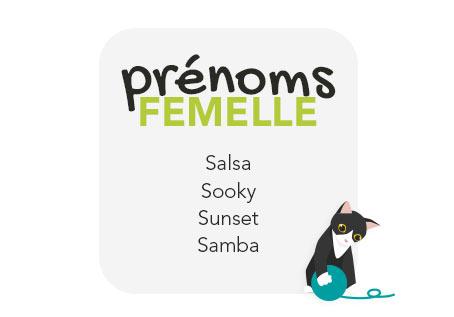 idées de prénoms pour une femelle