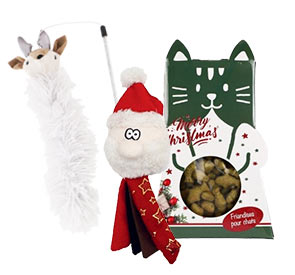 Boutique de Noel chat
