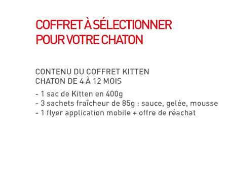 Contenu Kit chaton
