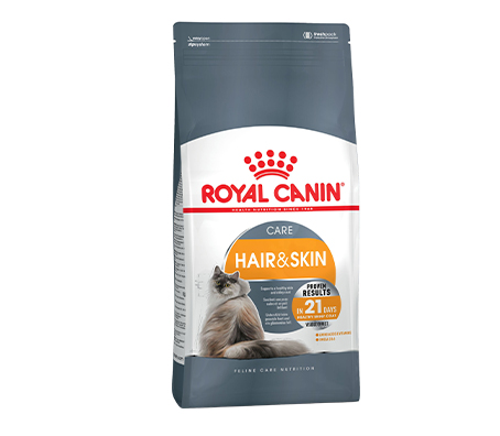 Croquettes Hair and skin Care pour chat