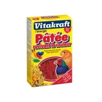 Aliment pour oiseau - Pâtée ravivant la couleur