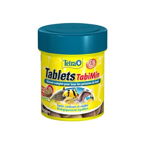 Tablets tabimin aliments pour poissons tropicaux tetra for Aliment pour poisson