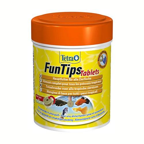 Funtips tablets aliment pour poissons tropicaux tetra for Aliment pour poisson