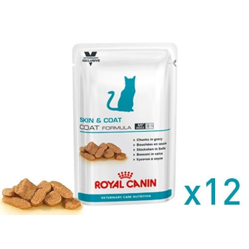 royal canin sachet fra cheur pour chat skin coat formula lot 12 x 100g wanimo. Black Bedroom Furniture Sets. Home Design Ideas