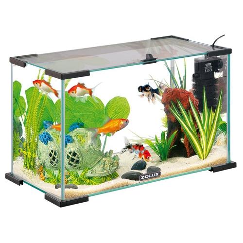 Nanolife first 20 aquarium zolux wanimo for Aquarium zolux