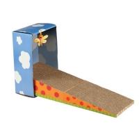 Arbre à chat et griffoir - Griffoir pliable en carton