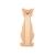 Arbre à chat et griffoir - Griffoir à suspendre silhouette chat pour chats