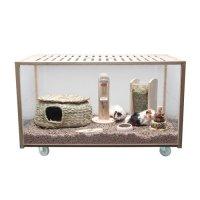 Cage, clapier et enclos rongeur - Cage Eco Habitat
