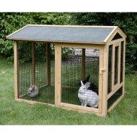 Cage, clapier et enclos rongeur - Enclos Gîte