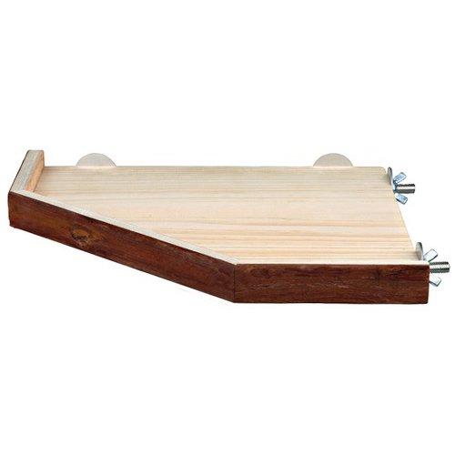 plateforme et rampe en bois accessoires pour cage wanimo. Black Bedroom Furniture Sets. Home Design Ideas