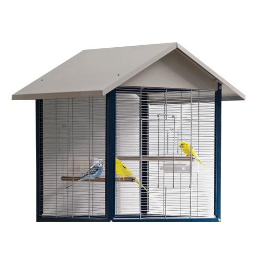 Voli re g te cage et voli re pour oiseau savic wanimo - Voliere oiseau interieur ...