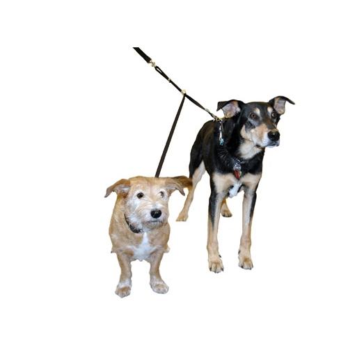 Laisse double coupler laisse pour chien wanimo - Laisse lasso pour chien ...