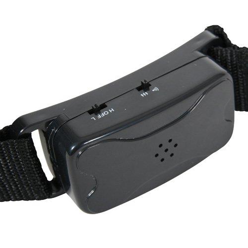Collier anti aboiement sonore ou vibrations collier anti for Boitier anti aboiement exterieur