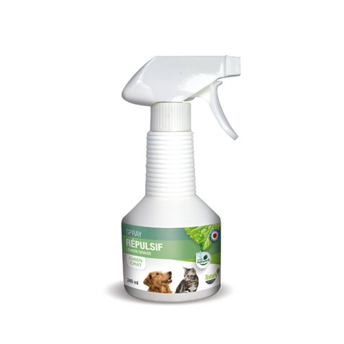 Spray r pulsif lemon grass r pulsif chien chat naturly for Repulsif chien exterieur naturel