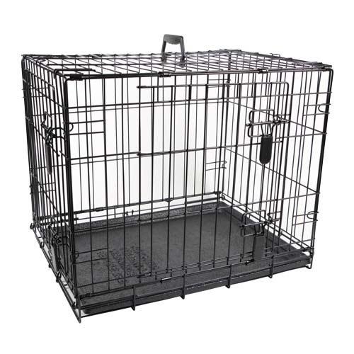 cage en m tal jaula cage pour chien et chiot dog it. Black Bedroom Furniture Sets. Home Design Ideas
