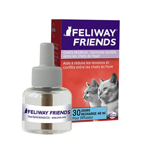 feliway friends diffuseur et recharges ph romones pour. Black Bedroom Furniture Sets. Home Design Ideas