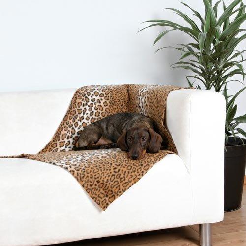 Couchage pour chien - Couverture Panthère pour chiens