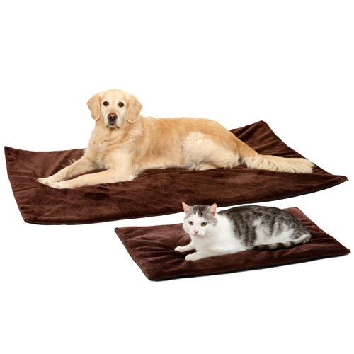 Tapis thermique thermo top tapis pour chien et chat karlie wanimo - Tapis gazon pour chien ...