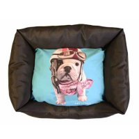 Couchage pour chien - Corbeille Domino Racing