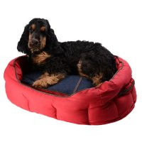 Couchage pour chien - Corbeille Denim