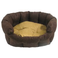 Couchage pour chien - Corbeille Capuccino