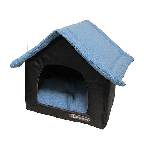 niche canvas maison niche pour chien topzoo wanimo. Black Bedroom Furniture Sets. Home Design Ideas