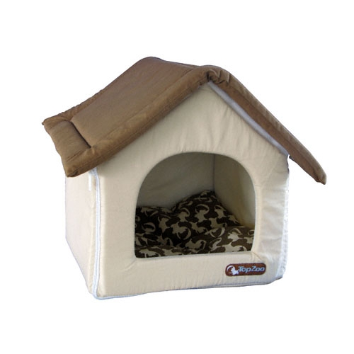 Couchage pour chien chiens chez - Maison pliable ...