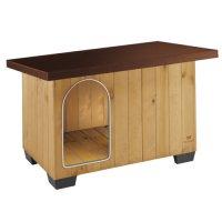 Couchage pour chien - Niche Baita en bois de pin