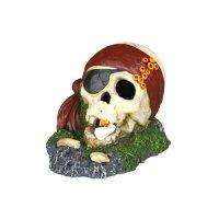 Décoration pour aquarium - Crâne de pirate