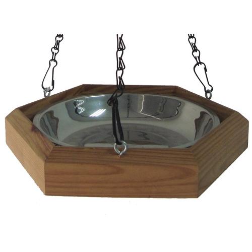 baignoire en bois baignoire pour oiseaux des jardins. Black Bedroom Furniture Sets. Home Design Ideas
