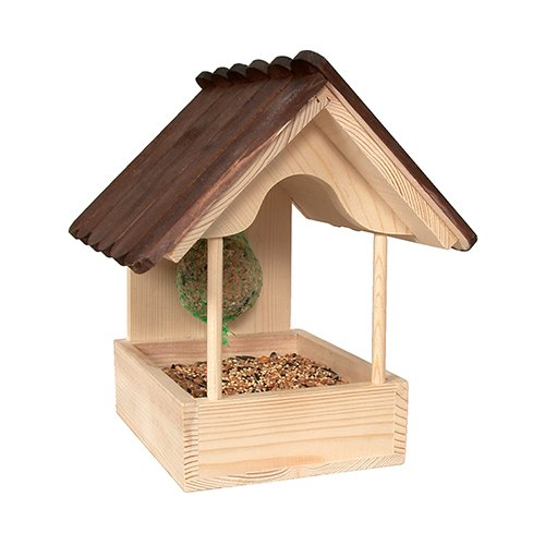 mangeoire azal e mangeoire pour oiseaux des jardins zolux wanimo. Black Bedroom Furniture Sets. Home Design Ideas