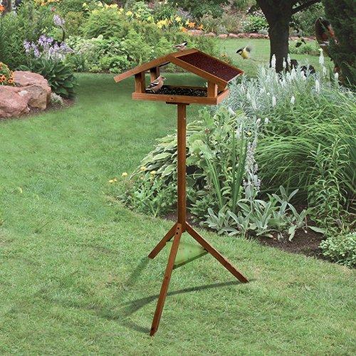 mangeoire sur pied eco mangeoire pour oiseaux des jardins zolux wanimo. Black Bedroom Furniture Sets. Home Design Ideas