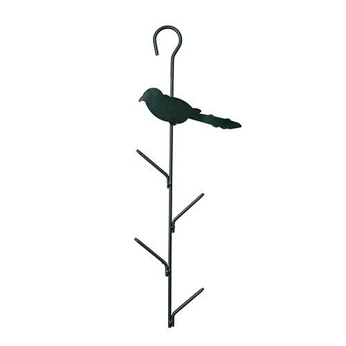 Support pour boules de graisse distributeur de for Oiseaux metal pour jardin